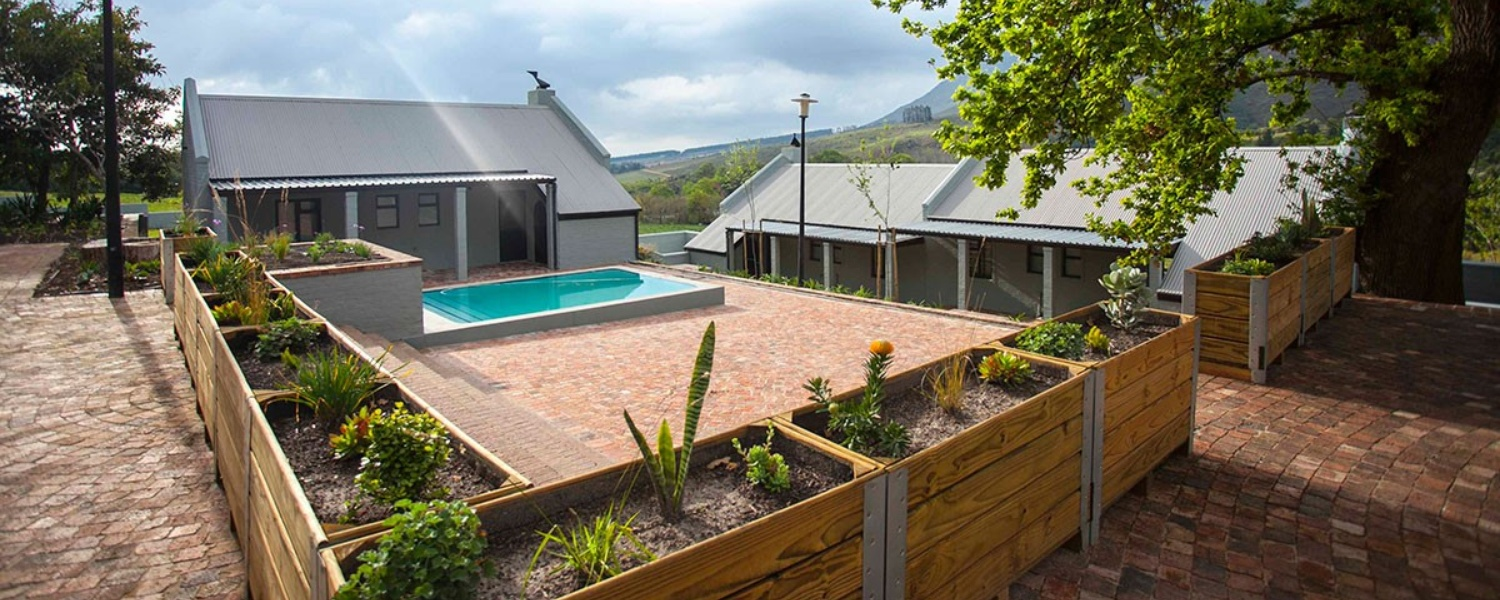 mont angelis luxury farm accommodation stellenboch pool