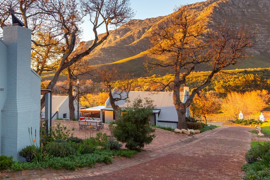 Every season is beautiful at Mont Angelis in Stellenbosch