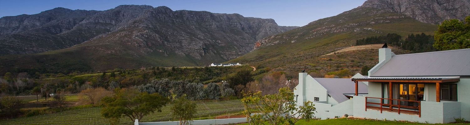 Mont Angelis Farm Accommodation Self Catering Stellenbosch Blaauwklippen Valley