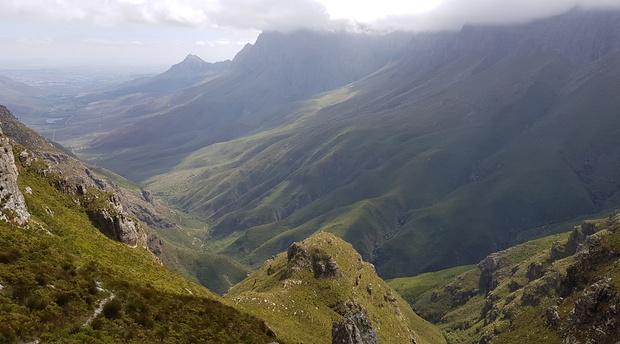 Hiking in Jonkershoek Valley Stellenbosch