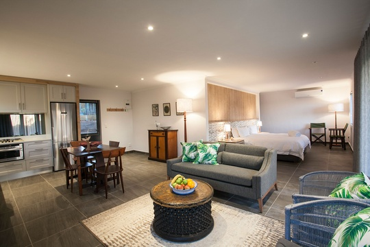 interior self catering mont angelis stellenbosch accommodation