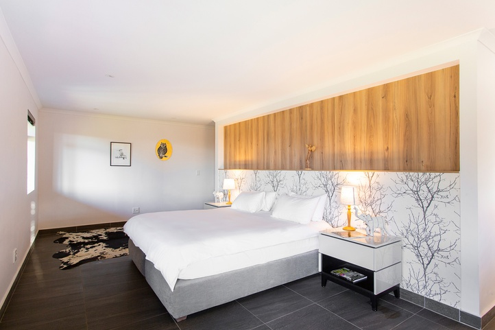 Chose between twin or King size bed at Mont Angelis in Stellenbosch