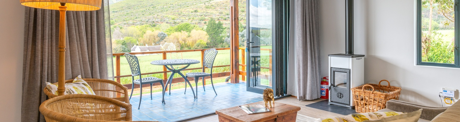 Mont Angelis luxury self-catering Stellenbosch Farm Accommodation